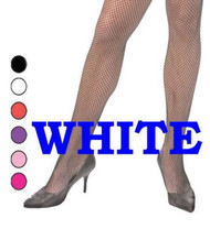 white FISHNET TIGHTS drag queen MENS stockings costume