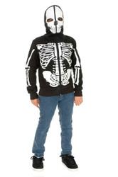 Skeleton Hoodie Boys Jacket Costume