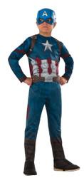 Captain America Civil War Costume Boys Kids