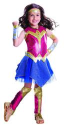 Batman v. Superman Dawn of Justice Deluxe Girls Kids Wonder Woman Costume