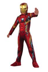 Captain America Civil War Iron Man Costume Boys Kids