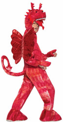 Red Dragon kids boys Halloween costume