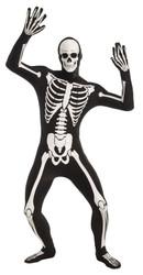 Skeleton Disappearing Man bones adult mens Halloween costume