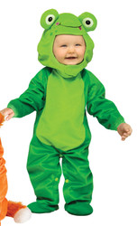 Fuzzy Froggy Baby Toddler Costume