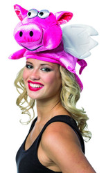 Flying Pig Hat Funny Halloween Costume