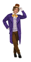 Deluxe Willy Wonka adult mens Charlie and the Chocolate Factory costume
