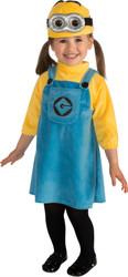 Despicable Me Minion Girls Infant Costume