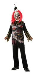 Freako the Clown horror scarey kids boys Halloween costume