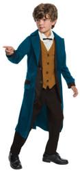 Deluxe Newt Scamander kids boys Fantastic Beasts Halloween costume