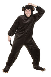 Adult Monkey Costume Halloween Mascot