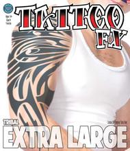Extra Large - Tribal - Tinsley Transfers Temporary Tattoo