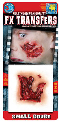 3D Small Gouge Tinsley Transfers Makeup FX Temporary Tattoo
