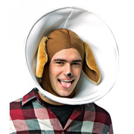 Dog in Cone Head Hat Funny Costume Rasta Imposta
