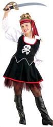 Pirate Mate Girls Costume 882894