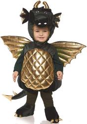 Underwraps Dragon Boys Toddler Green Belly Baby Costume Medium 18/24M