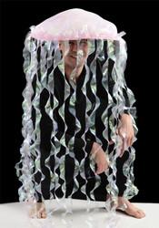 Jellyfish Hat Adult Costume Accessory