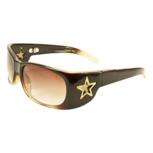 Flygirls Flylicious LTD sunglasses- brown grad