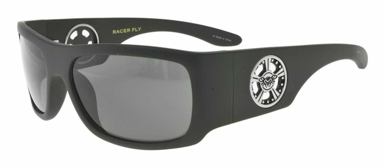 cfd0fcc9b3c Black Flys Racer Fly sunglasses - matte black  smoke