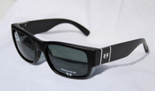 Hoven Knucklehead Sunglasses - Black Matte - Grey Polarized