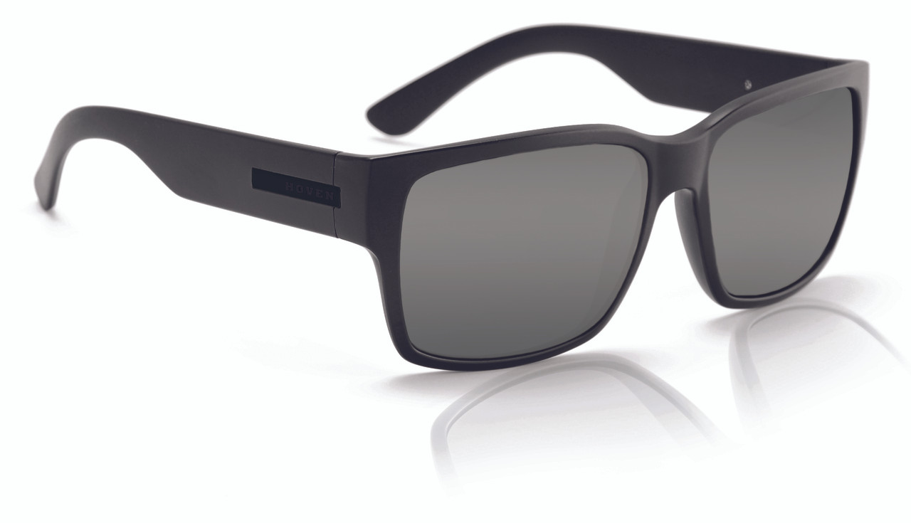 0643b5e971 Add to Wish List. Click the button below to add the Hoven Mosteez Sunglasses  - Black on Black - Grey Polarized ...