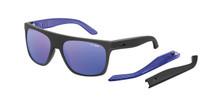 Arnette Squaresville sunglasses - fuzzy black - purple mirror