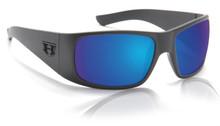 Hoven Ritz - black on black/ tahoe blue polarized