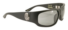 Black Flys Jay Adams Skater Fly sunglasses - matte black/ polarized