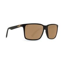 Von Zipper Lesmore Sunglasses - Black Satin - Gold Glo Polar - BDP