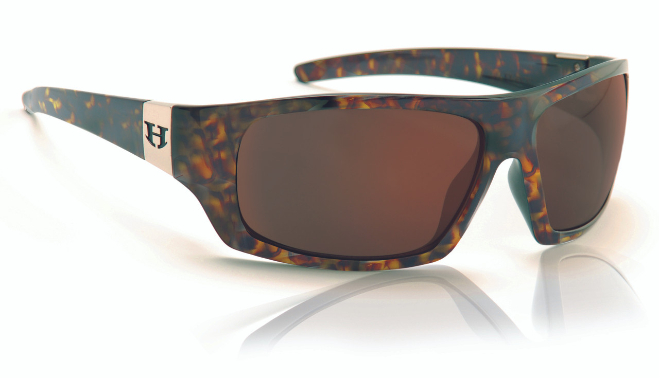 a9698e1328 Hoven Easy Sunglasses - Emerald Tort - Brown Polarized - 52-2862