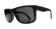Electric Swingarm Sunglasses - Matte Black - Melanin Grey - EE12901020