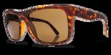 Electric Swingarm Sunglasses - Matte Tortoise - Melanin Brown Polar - EE12913943