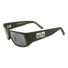 Black Flys Santeria Fly / Hawaii Plate Sunglasses - Matte Black / Smoke