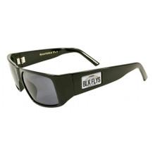 Black Flys Santeria Fly / Hawaii Plate Sunglasses - Shiny Black / Smoke