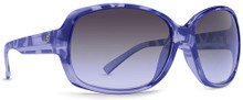 Von Zipper Ling Ling Sunglasses - Violet Tort - Grey Gradient - VTG
