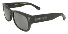 Black Flys Sullen 2 Sunglasses - Matte Black - Black Logos - Smoke
