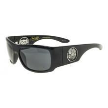 Black Flys Racer Fly Sunglasses - Christian Fletcher Signature - Shiny Black Polar