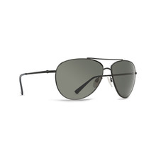 Von Zipper Wing Ding Sunglasses - Black Satin - Grey, BKS