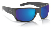 Hoven Times Sunglasses - Black on Black - Tahoe Blue Polarized