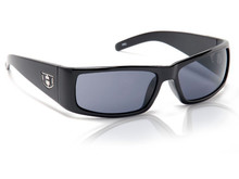 Hoven The One Sunglasses - Black Gloss - Grey - 13-0101