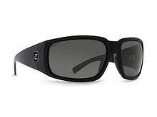 Von Zipper Palooka Sunglasses - Black Gloss - Grey Glass Polar+B - BGX