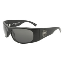 Black Flys Fly Ballistics Sunglasses - Matte Black - Smoke - ANSI Certified