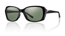 Smith Facet Sunglasses - Black/Polarized Gray Green