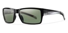 Smith Outlier Sunglasses - Black/ChromaPop Polarized Gray Green