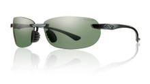 Smith Turnkey Sunglasses - Black/ChromaPop Polarized Gray Green