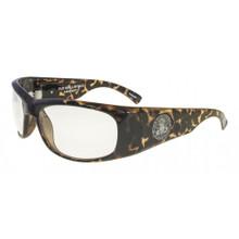 Black Flys Fly Ballistics Safety Glasses - Tort - Clear Lenses - ANSI Certified
