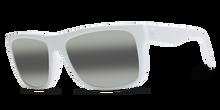Electric Swingarm Sunglasses - Alpine White - Melanin Grey Bi Gradient Mirror - 129-53841