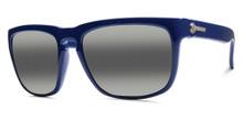 Electric Knoxville Sunglasses - Alpine Blue - Melanin Grey Bi Gradient Mirror - 90-53641