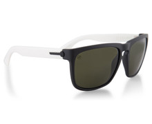 Electric Knoxville Sunglasses - Mod White - Melanin Grey - 90-5022