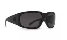 Von Zipper Palooka Sunglasses - Black Satin - ANSI Grey Polarized - PAL-ASP