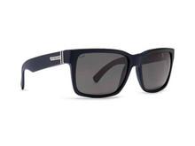 Von Zipper Elmore Sunglasses - Black Smoke Satin - Wildlife Polar Vintage Gray - ELM-PSV